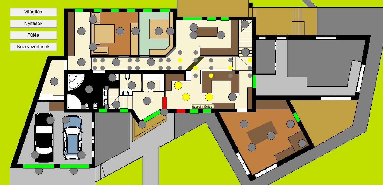épület automatizálás